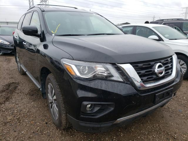 Salvage cars for sale from Copart Elgin, IL: 2018 Nissan Pathfinder