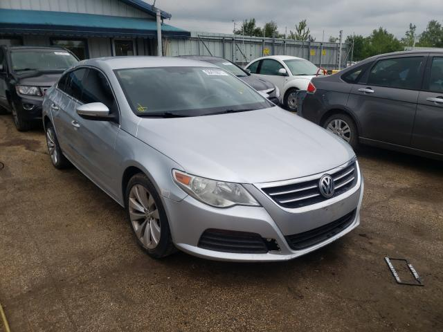 Salvage cars for sale from Copart Pekin, IL: 2012 Volkswagen CC Sport