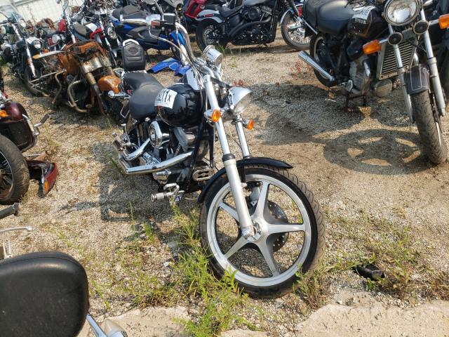 Salvage cars for sale from Copart Pekin, IL: 1999 Harley-Davidson Fxst