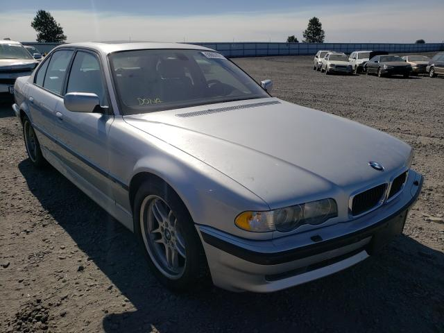 Salvage cars for sale from Copart Airway Heights, WA: 2001 BMW 740 I Automatic
