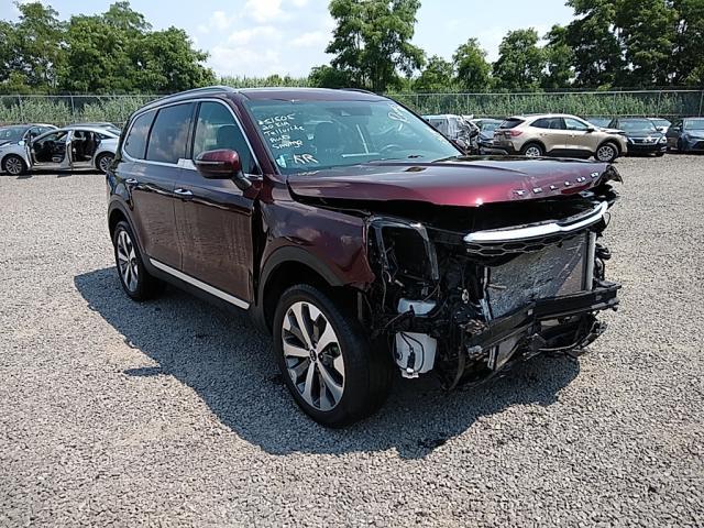 Salvage cars for sale from Copart Hillsborough, NJ: 2020 KIA Telluride