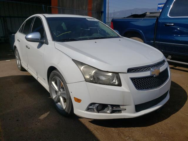 Salvage cars for sale from Copart Colorado Springs, CO: 2012 Chevrolet Cruze LT