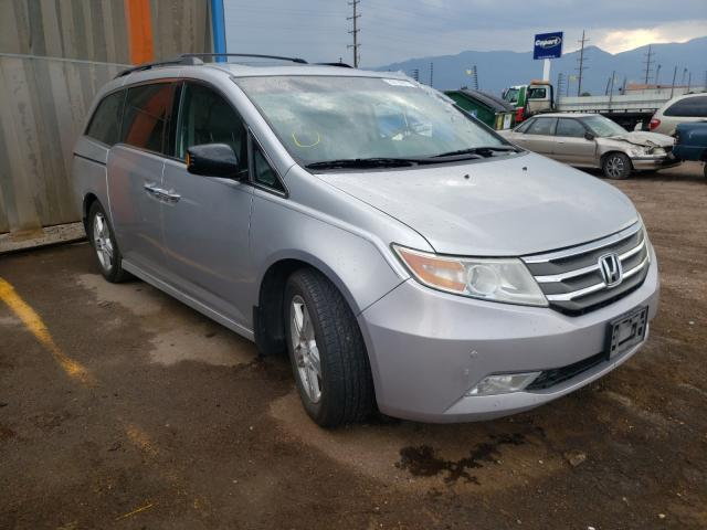 Salvage cars for sale from Copart Colorado Springs, CO: 2012 Honda Odyssey TO