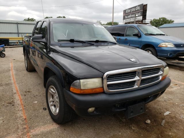 Salvage cars for sale from Copart Wichita, KS: 2004 Dodge Dakota Quattro