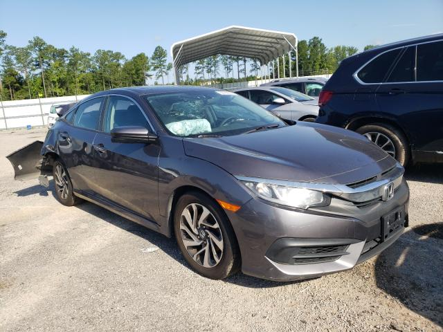 Salvage cars for sale from Copart Harleyville, SC: 2016 Honda Civic EX