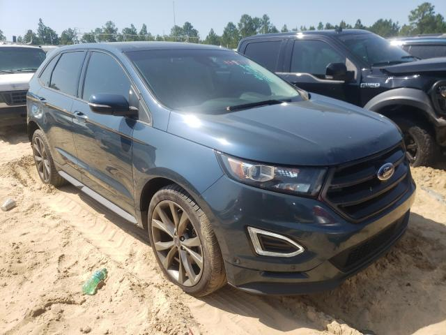 Ford Edge salvage cars for sale: 2016 Ford Edge