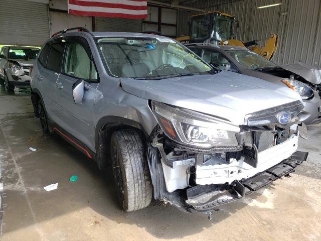 Salvage cars for sale from Copart Albany, NY: 2020 Subaru Forester S