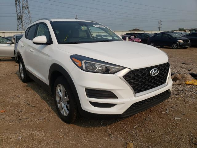 Salvage cars for sale from Copart Elgin, IL: 2019 Hyundai Tucson Limited