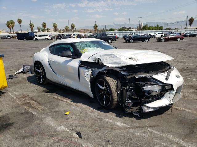 Salvage cars for sale from Copart Colton, CA: 2021 Toyota Supra Base
