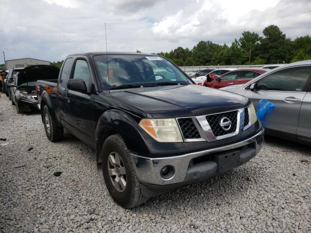Salvage cars for sale from Copart Memphis, TN: 2005 Nissan Frontier K