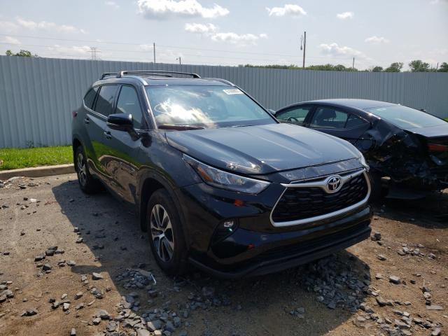 2020 Toyota Highlander en venta en Glassboro, NJ