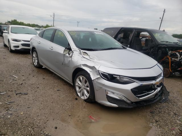 Salvage cars for sale from Copart Indianapolis, IN: 2019 Chevrolet Malibu LT