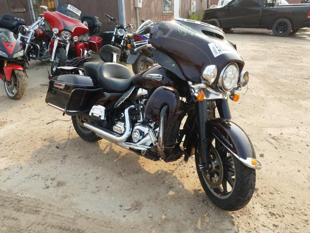 Salvage cars for sale from Copart Billings, MT: 2014 Harley-Davidson Flhtcu ULT