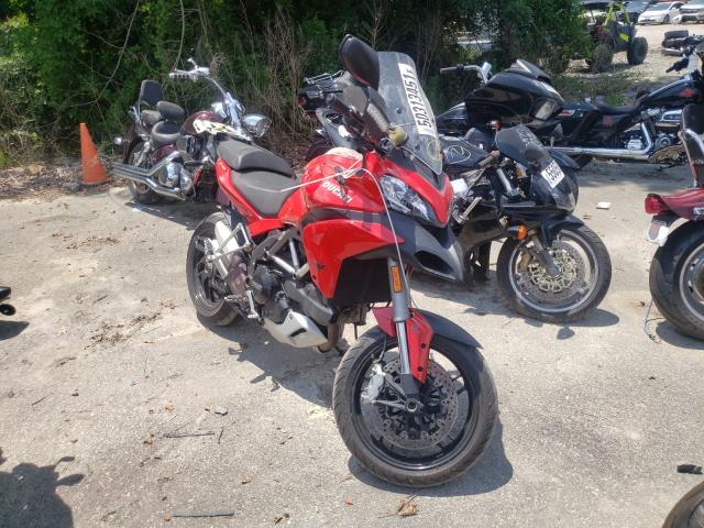 Ducati Multistrad salvage cars for sale: 2014 Ducati Multistrad