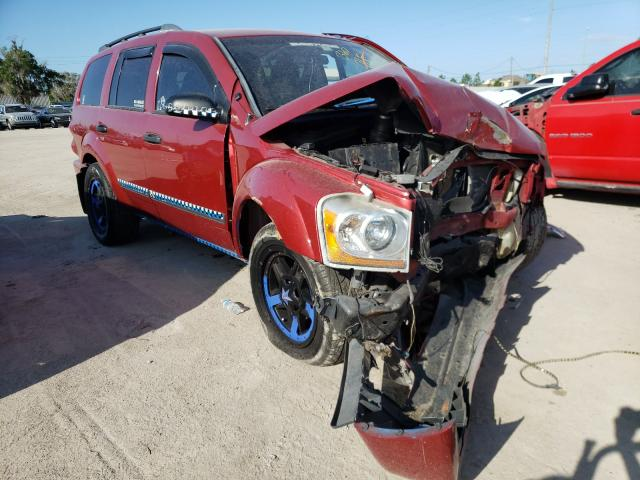 Salvage cars for sale from Copart Riverview, FL: 2006 Dodge Durango SL