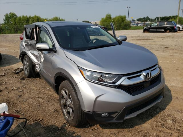 Salvage cars for sale from Copart Indianapolis, IN: 2017 Honda CR-V EX