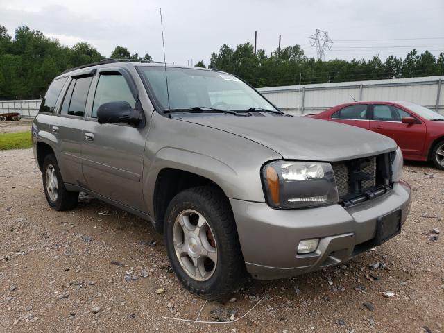 Vehiculos salvage en venta de Copart Charles City, VA: 2009 Chevrolet Trailblazer