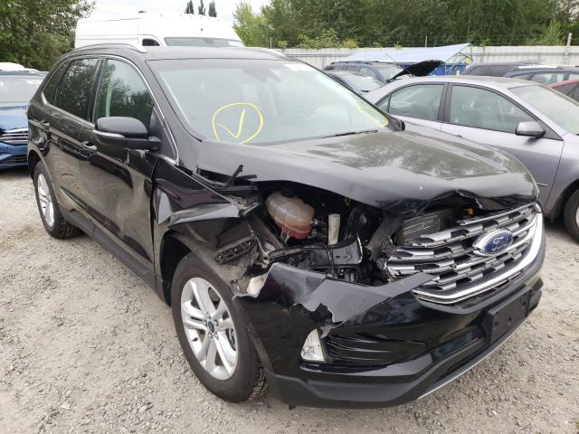 Salvage cars for sale from Copart Arlington, WA: 2019 Ford Edge SEL