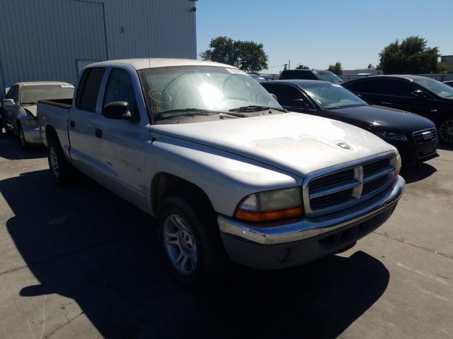 Dodge salvage cars for sale: 2001 Dodge Dakota Quattro