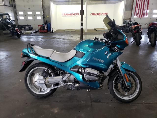 Salvage cars for sale from Copart Ham Lake, MN: 1994 BMW R1100 RS