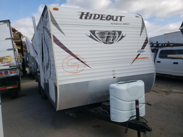 Keystone Hide OUT salvage cars for sale: 2013 Keystone Hide OUT