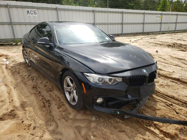 Salvage cars for sale from Copart Gaston, SC: 2015 BMW 428 XI