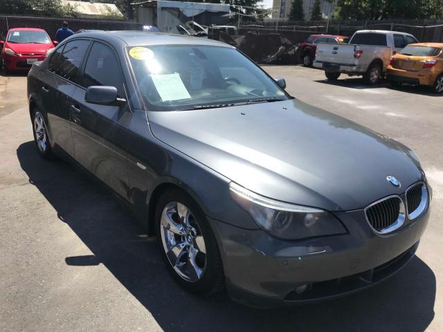 BMW Vehiculos salvage en venta: 2007 BMW 550 I