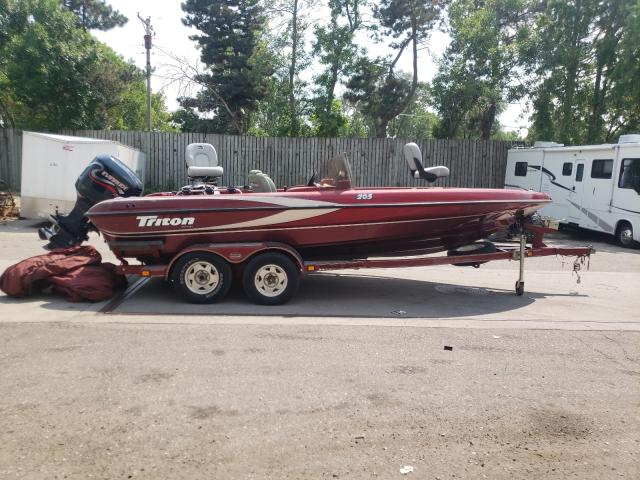 Salvage cars for sale from Copart Ham Lake, MN: 1999 Triton Boat