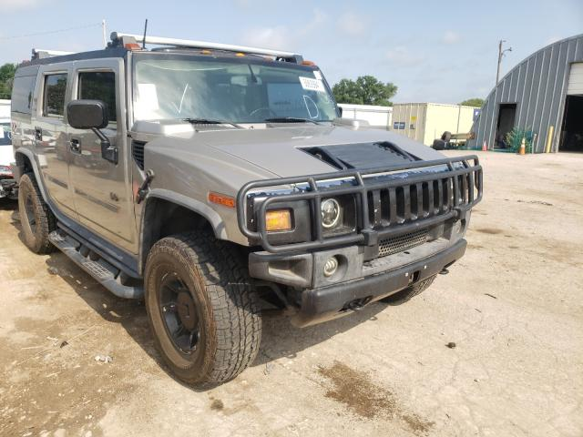 Salvage cars for sale at Wichita, KS auction: 2003 Hummer H2