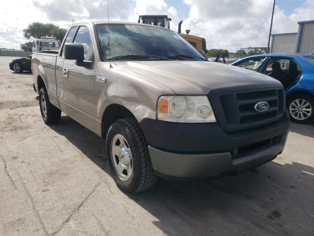 Salvage cars for sale from Copart Orlando, FL: 2005 Ford F150