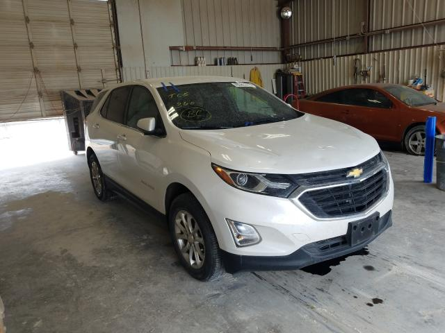 Salvage cars for sale from Copart Abilene, TX: 2018 Chevrolet Equinox LT
