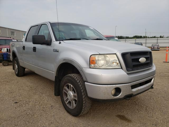 Salvage cars for sale from Copart Nisku, AB: 2006 Ford F150 Super