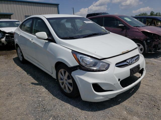 Salvage cars for sale from Copart Chambersburg, PA: 2013 Hyundai Accent GLS