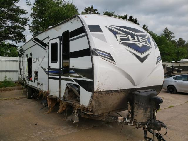 Heartland Travel Trailer salvage cars for sale: 2021 Heartland Travel Trailer