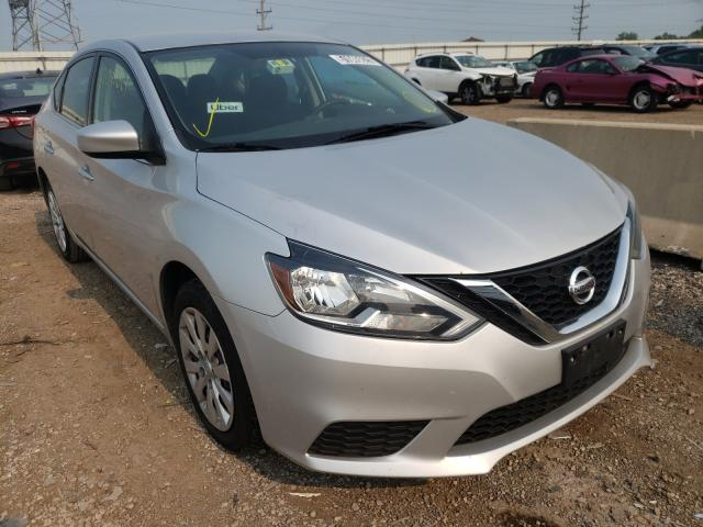Salvage cars for sale from Copart Elgin, IL: 2018 Nissan Sentra S