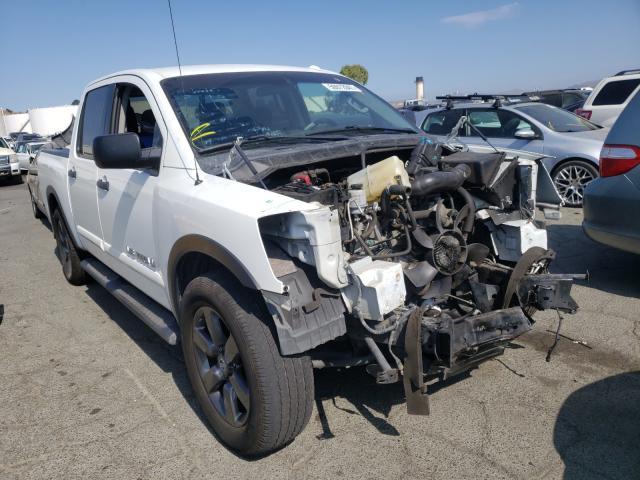 Vehiculos salvage en venta de Copart Martinez, CA: 2015 Nissan Titan S