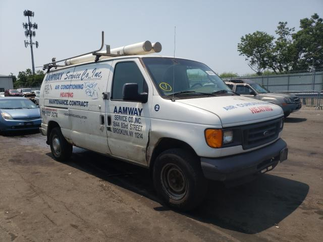 Ford E250 salvage cars for sale: 2006 Ford E250