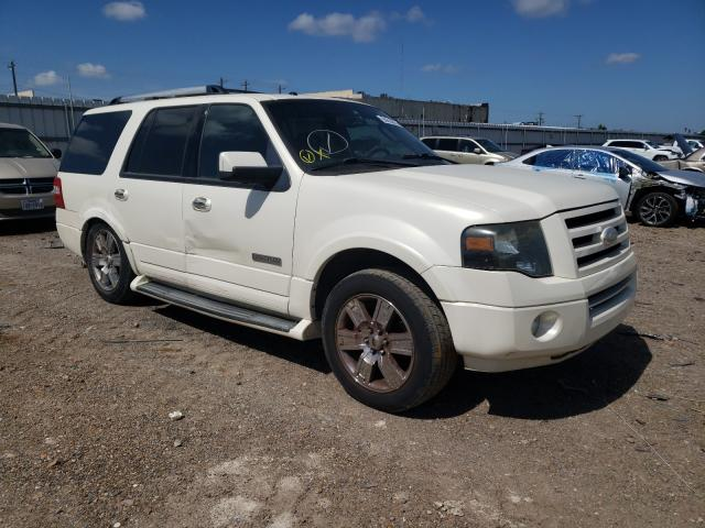 Salvage cars for sale from Copart Mercedes, TX: 2007 Ford Expedition