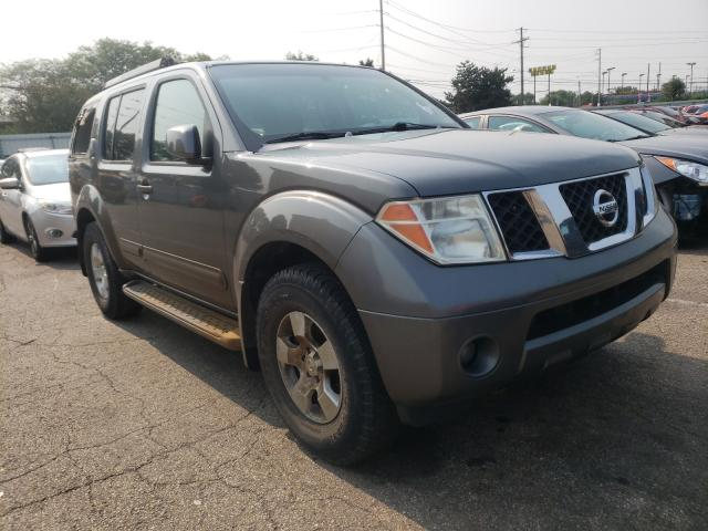 Salvage cars for sale from Copart Moraine, OH: 2005 Nissan Pathfinder