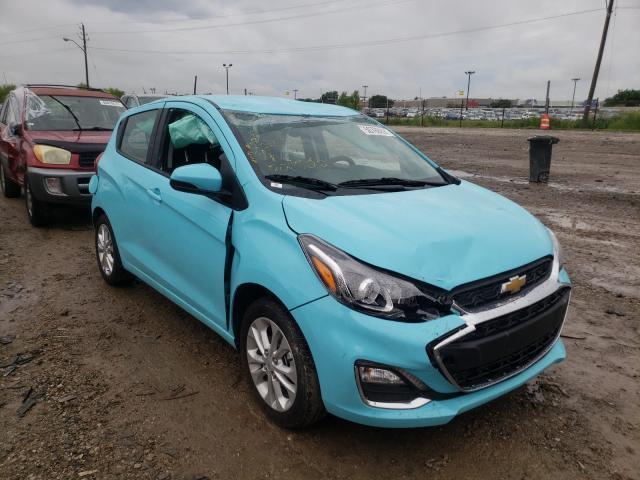 Chevrolet Spark 1LT salvage cars for sale: 2021 Chevrolet Spark 1LT