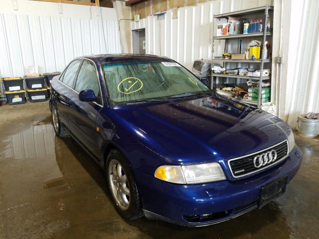 Salvage cars for sale from Copart Anchorage, AK: 1998 Audi A4 2.8
