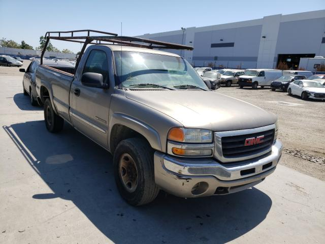 Salvage cars for sale from Copart Hayward, CA: 2003 GMC New Sierra