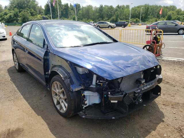 Salvage cars for sale from Copart East Granby, CT: 2019 Hyundai Sonata LIM