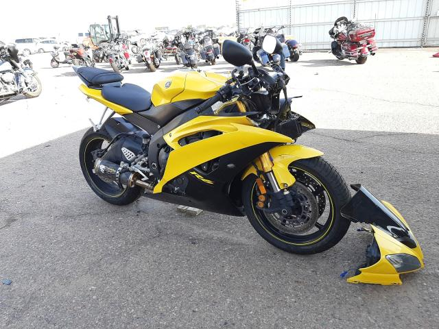 Salvage cars for sale from Copart Phoenix, AZ: 2008 Yamaha YZFR6