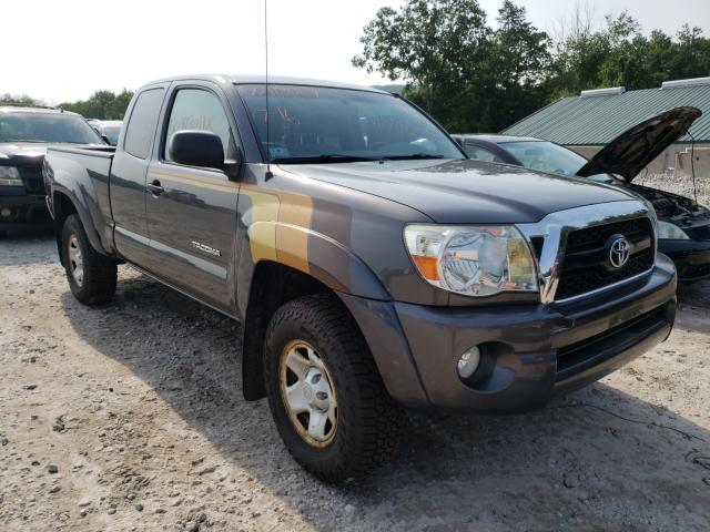 Salvage cars for sale from Copart West Warren, MA: 2011 Toyota Tacoma ACC
