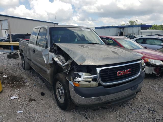 Salvage cars for sale from Copart Hueytown, AL: 2002 GMC New Sierra