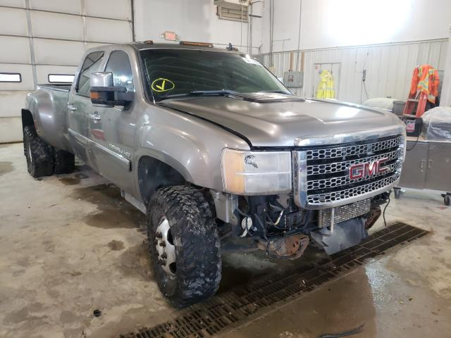 Salvage cars for sale from Copart Columbia, MO: 2013 GMC Sierra K35