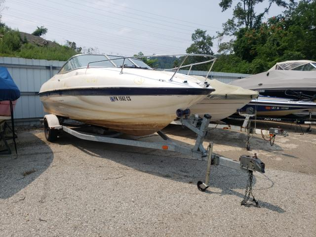 Salvage boats for sale at West Mifflin, PA auction: 2003 Brun Chariot