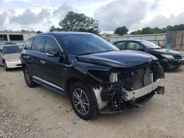 Salvage cars for sale from Copart Florence, MS: 2018 Infiniti QX60