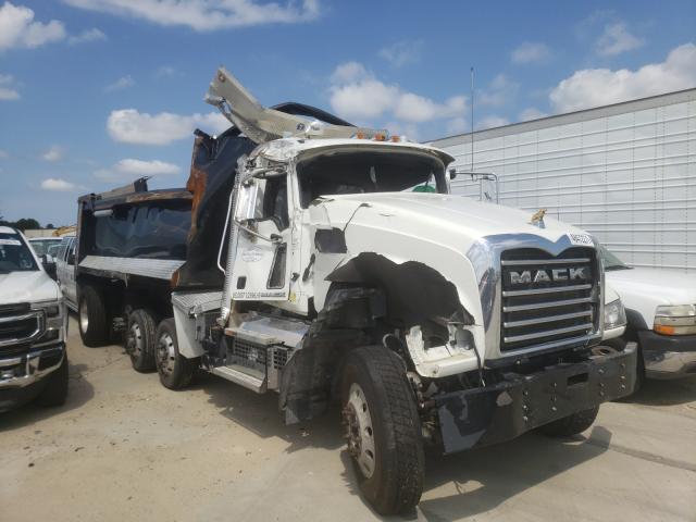 Mack 700 GU700 salvage cars for sale: 2018 Mack 700 GU700